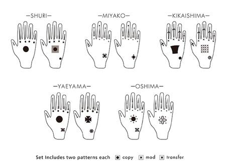 Hajichi Tattoo Designs by Island