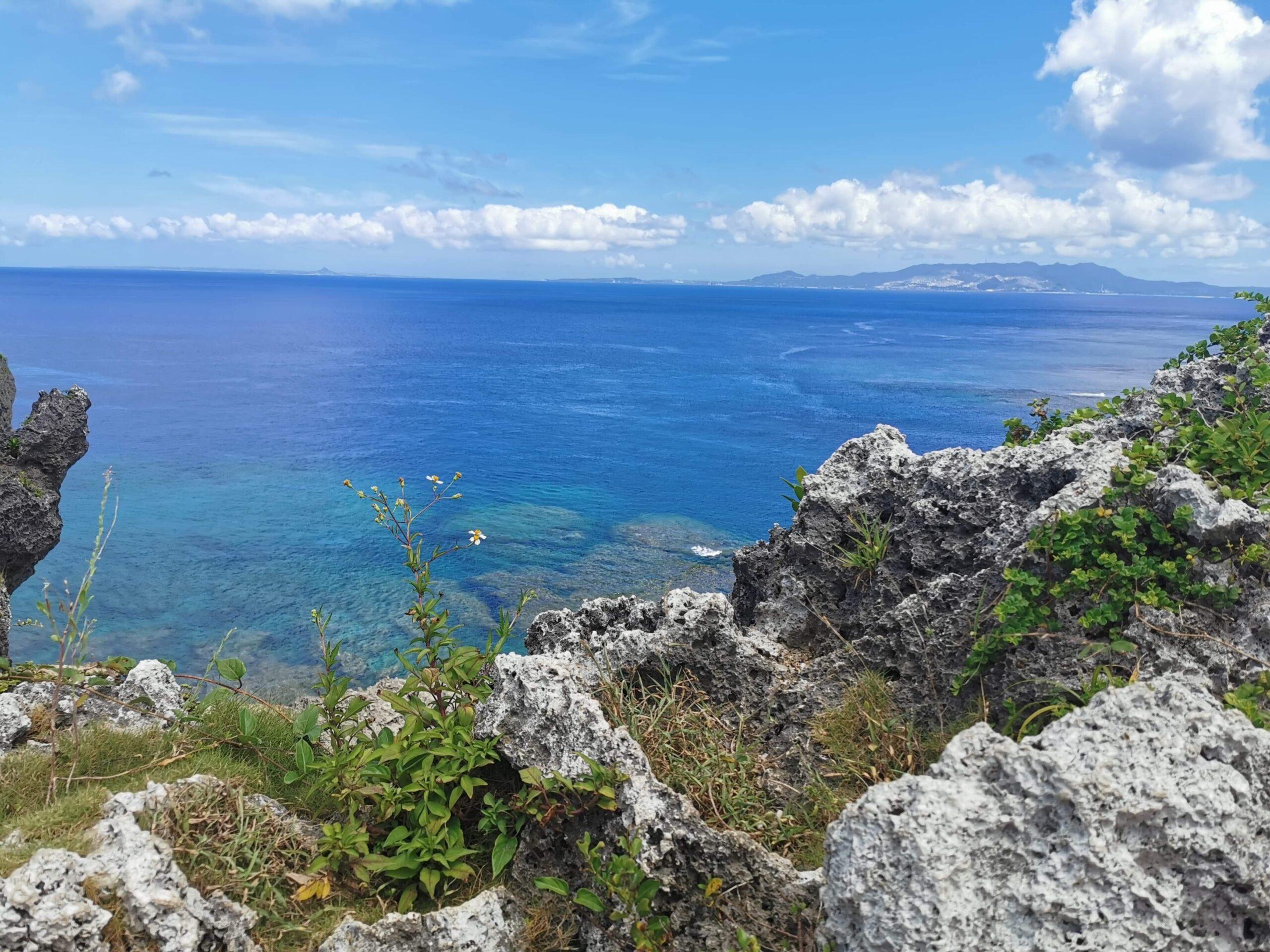 A BEAUTIFUL VIEW OF RYUKYUAN OCEAN