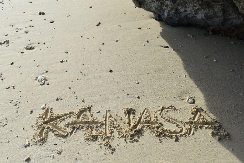Kanasa means love in uchinaaguchi